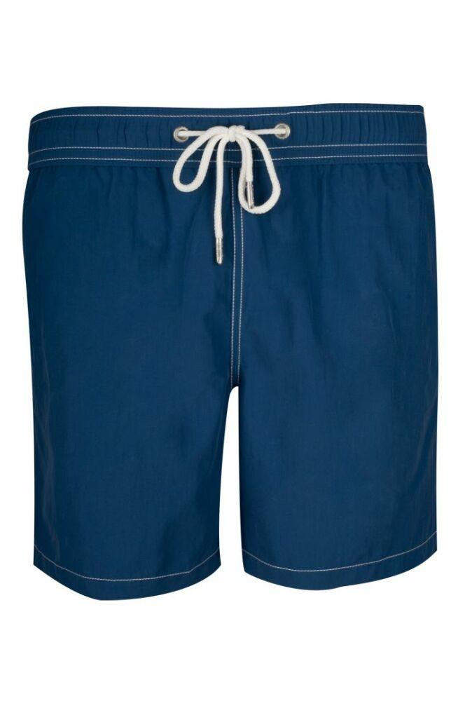 Short de bain homme uni bleu marine Soobaya été 2013