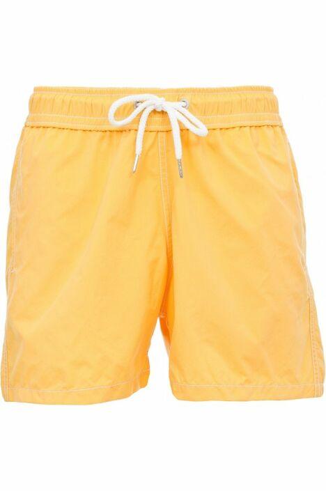 """Short de bain homme uni jaune Soobaya été 2013<span class=""""normal italic petit"""">© Soobaya</span>"""