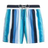 Short de bain à rayures verticales colorées pour homme Vilebrequin