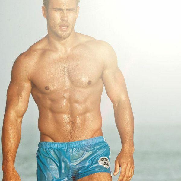 Short de bain pour homme bleu de aussiebum for Short piscine homme