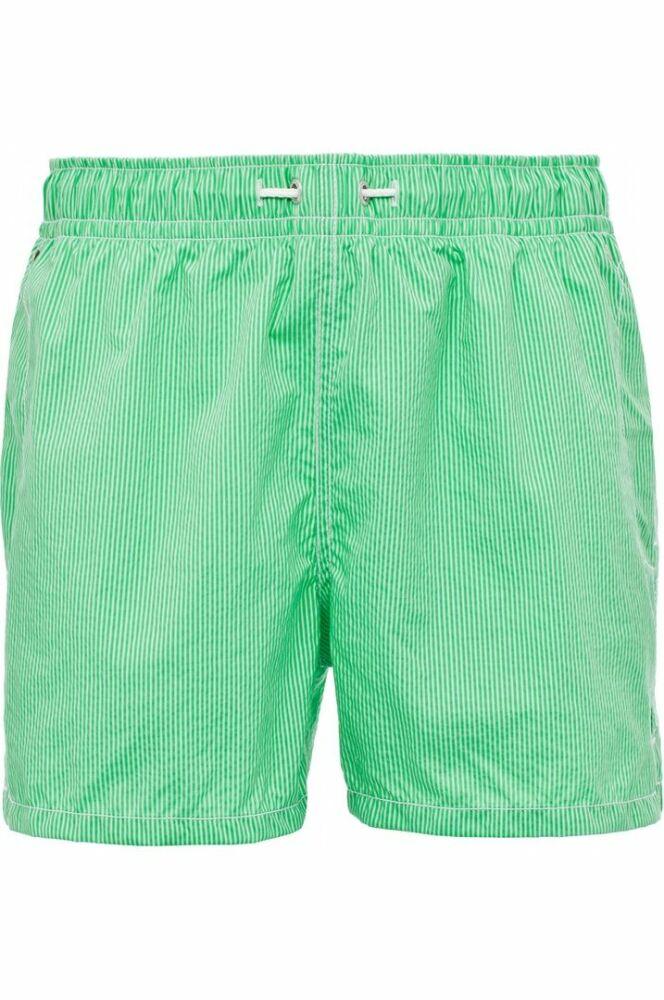 Shorty de bain enfant garçon rayé vert