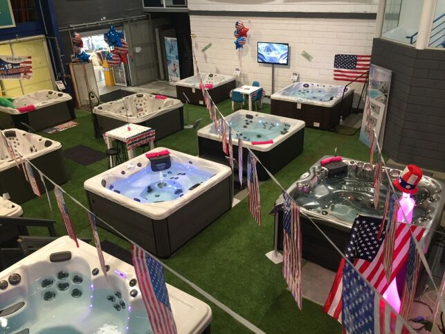 Showroom Irrijardin pour les 15 jours du spa américain