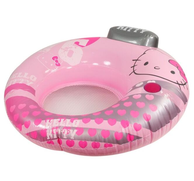 Siège de piscine gonflable Hello Kitty