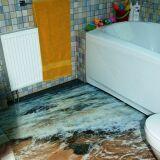 L'idée déco du mois pour votre salle de bain : les sols hyperréalistes