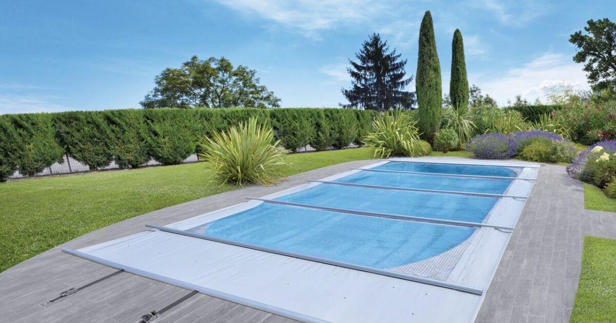Solae couverture solaire multi usages par waterair - Couverture piscine saisons creteil ...