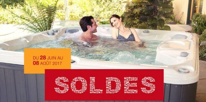 """Soldes Sundance Spas : jusqu'à 20% de réduction du 28 juin au 8 août<span class=""""normal italic petit"""">© Sundance Spas</span>"""
