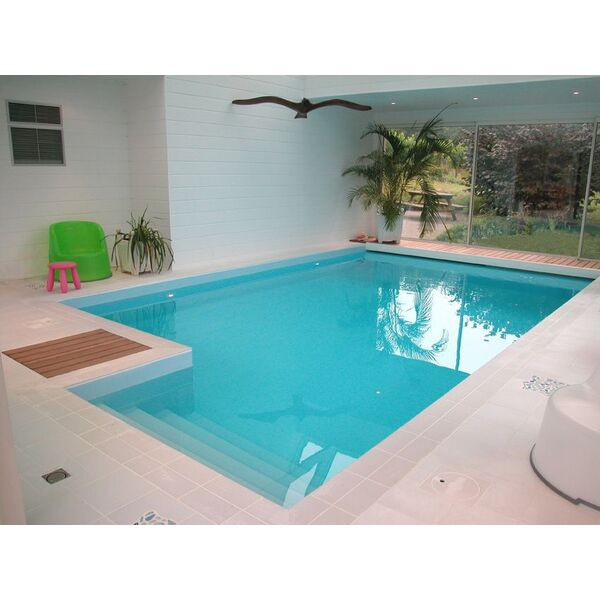 solidit de la membrane en pvc arm pour piscine. Black Bedroom Furniture Sets. Home Design Ideas