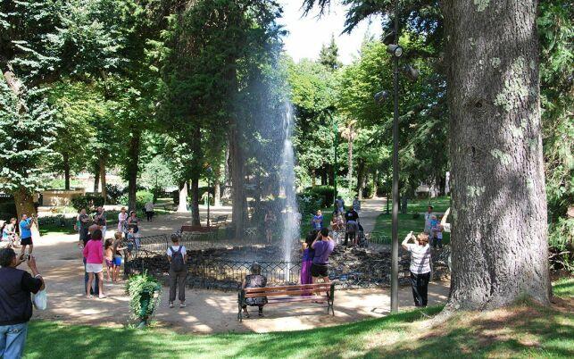 Source Intermittente aux Thermes de Vals-les-Bains