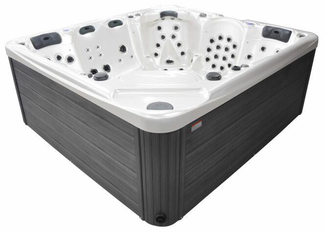 Le spa 6 places Eternity est un spa haut-de-gamme spécialement adapté aux personnes de grande taille.