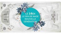 Spa de nage 16EX Clairazur : nouveauté 2019