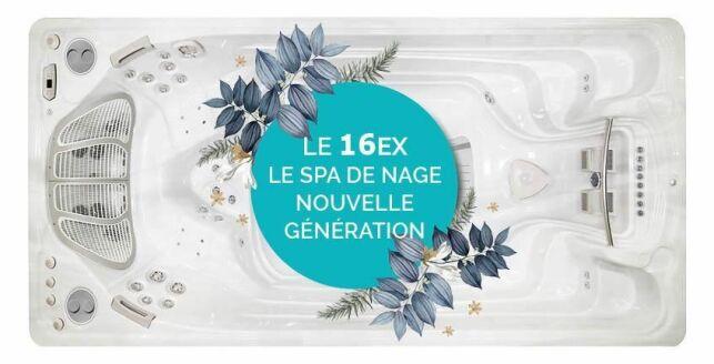 Spa de nage 16EX de Clairazur