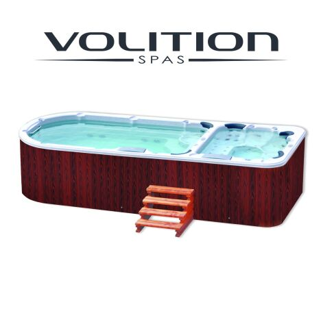 "Spa de nage Gladstone Bi-Zone  <span class=""normal italic petit"">© Volition</span>"
