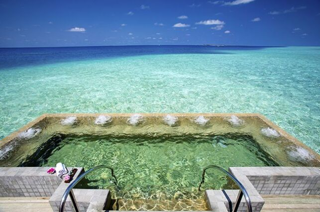 Spa du Velassaru, aux Maldives