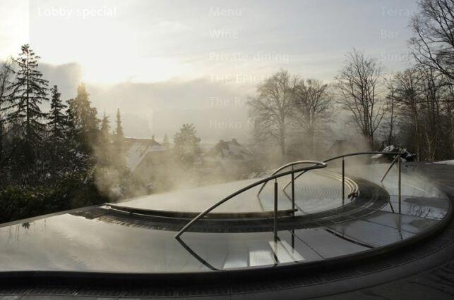 Spa extérieur du Doler Grand Hotel à Zurich