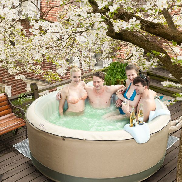 spa gonflable 4 places birkin bubble par poolstar