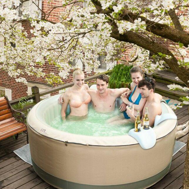 Spa gonflable 4 places Birkin Bubble