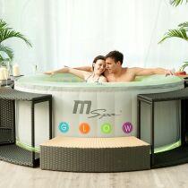 Les plus beaux spas ext rieurs en photos spa field d 39 aqua dolce - Meilleur spa gonflable ...