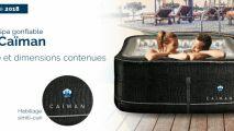 Nouveau spa gonflable Caïman, par Poolstar