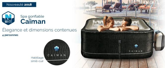 Spa gonflable Caïman, par Poolstar