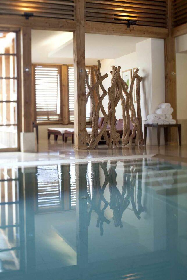"""Le bain thermal au Spa """"Les Sources de Caudalie"""" à Bordeaux-Martillac"""