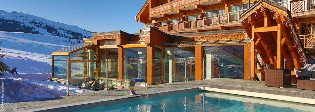 Spa Nuxe de l'Hôtel Annapurna à Courchevel