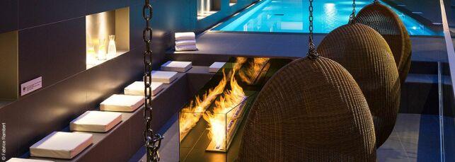 Spa Nuxe de l'Hôtel Héliopic à Chamonix