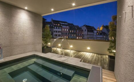 """Spa """"Ô fil de l'eau"""" de l'Hôtel Régent Petit France**** à Strasbourg<span class=""""normal italic petit"""">DR</span>"""