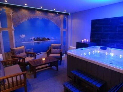 Suite privative avec jacuzzi