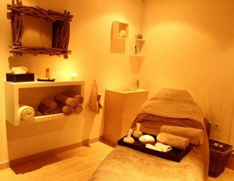 Cabine de soin du Spa Sens Sensitive Wellness