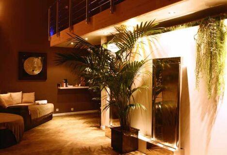 Espace repos du Spa Sens Sensitive Wellness à Chavenay
