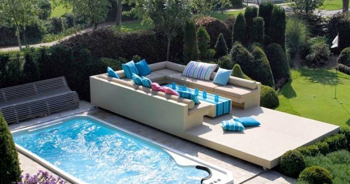 les plus beaux spas de nage en photos spa de nage acrylique par clair azur photo 5. Black Bedroom Furniture Sets. Home Design Ideas