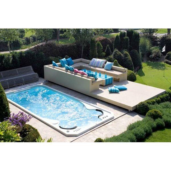 Spa de nage acrylique par clair azur - Spa de nage encastrable ...