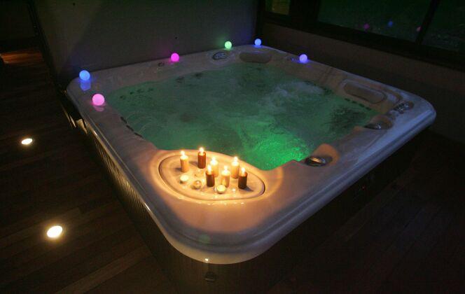 Spa intérieur © L'Esprit piscine