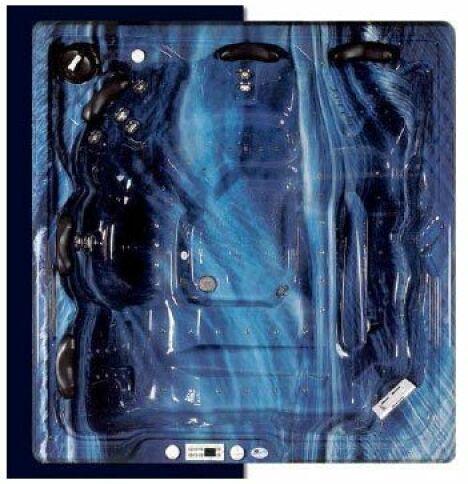 """Spas Aubade Portable - Eden Encastrable<span class=""""normal italic petit"""">© Everblue</span>"""