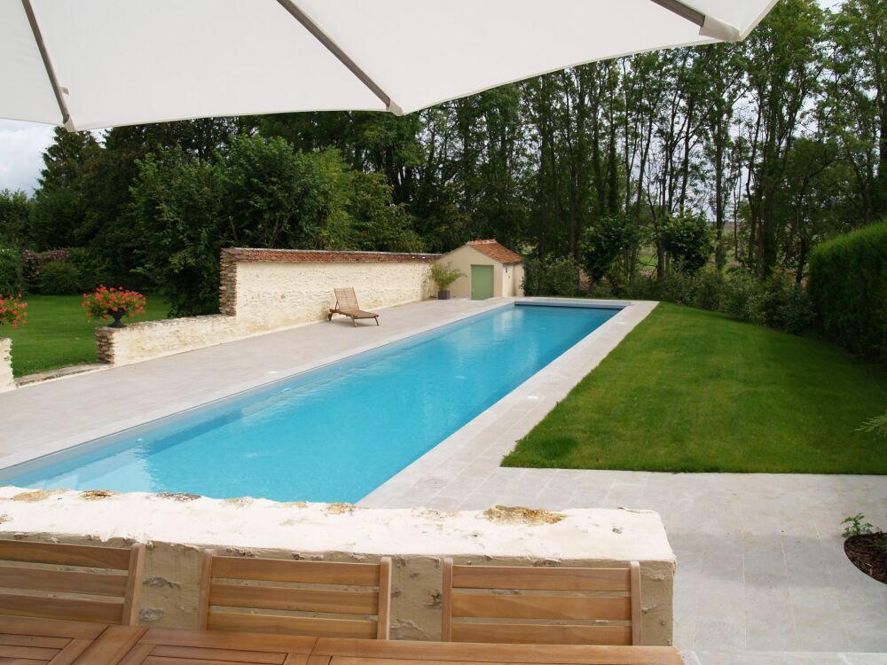 SPORTING : un couloir de nage à domicile avec Piscines Dugain !© Piscines Dugain