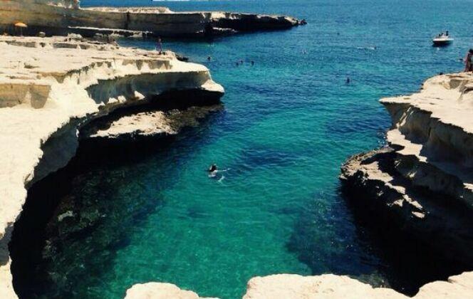 St Peter's Pool : une superbe piscine naturelle à découvrir © St Peter's Pool - Pinterest