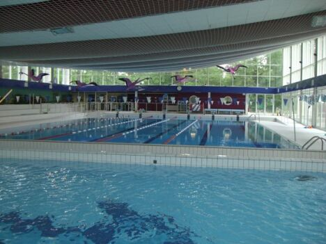 Piscine de Fontainebleau : le grand bassin sportif