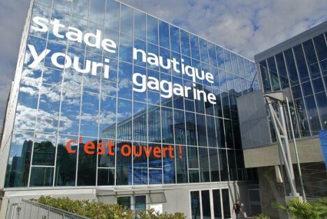 "Stade nautique Youri Gagarine à Villejuif<span class=""normal italic"">DR</span>"