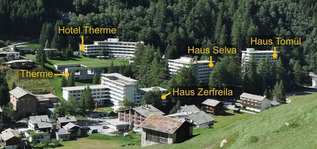 Station thermale de Vals