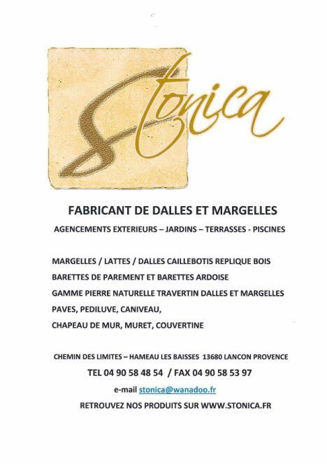 """Stonica à Lançon-Provence<span class=""""normal italic petit"""">© Stonica</span>"""