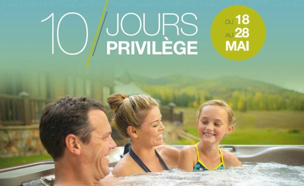 Sundance Spas : 10 Jours Privilège © Sundance Spas