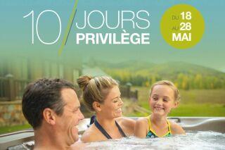 10 Jours Privilège chez Sundance Spas