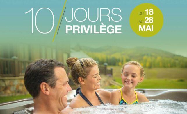 Sundance Spas : 10 Jours Privilège