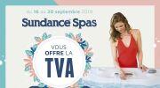 Sundance Spas vous offre la TVA
