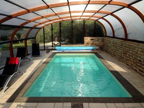"Swim Garden (Piscines Everblue) à Clohars Fouesnant<span class=""normal italic petit"">© Swim Garden</span>"