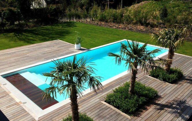 Swim Garden (Piscines Everblue) à Clohars Fouesnant © Swim Garden