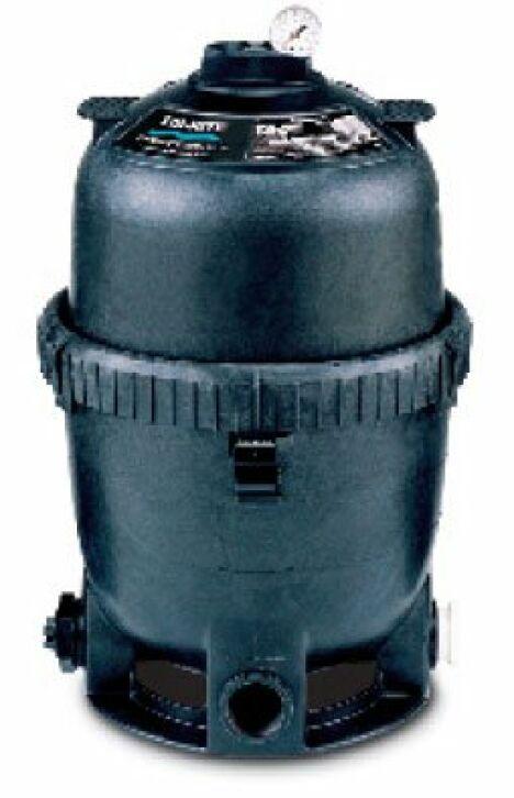 """System 2 - PLD Filtre à diatomée - PLM Filtre à cartouche<span class=""""normal italic petit"""">© Pentair</span>"""