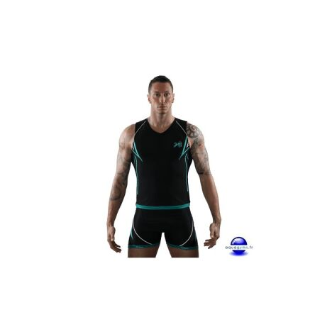 "T-Shirt Aquabike <span class=""normal italic petit"">© Aquagyms</span>"