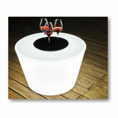 "Table basse lumineuse par Aquagyms<span class=""normal italic petit"">© Aquagyms</span>"