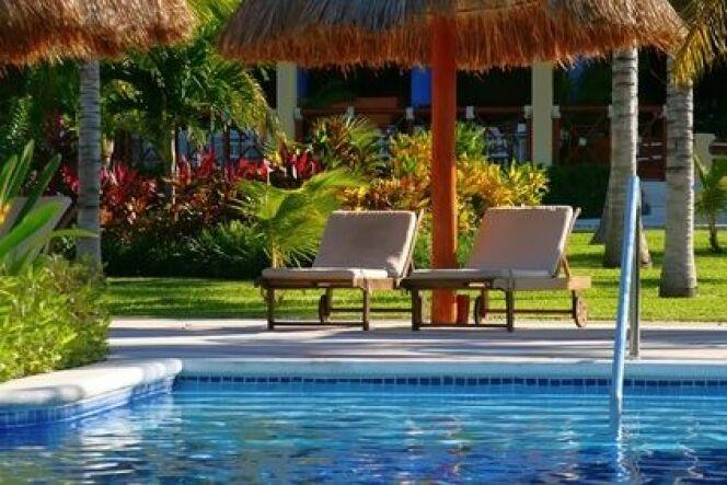 """Les taches brunes peuvent arriver rapidement sur une piscine. Il convient de les traiter au plus vite.<span class=""""normal italic petit"""">DR</span>"""